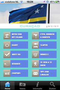 CuracaoApp voor Android en Apple